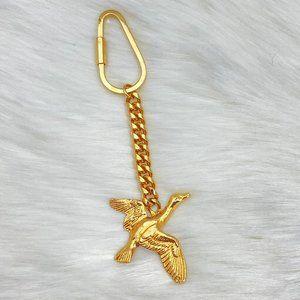 Vintage Jeanne Bouchever Duck Keychain